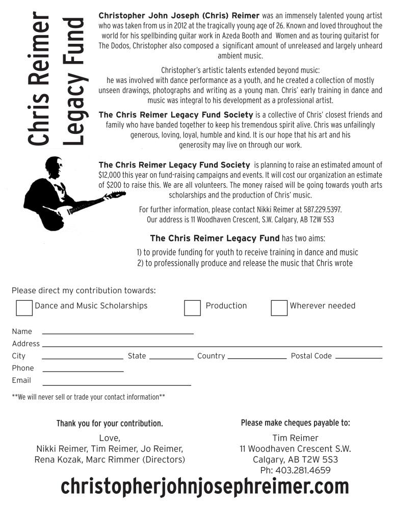 Legacy Fund (2/3)